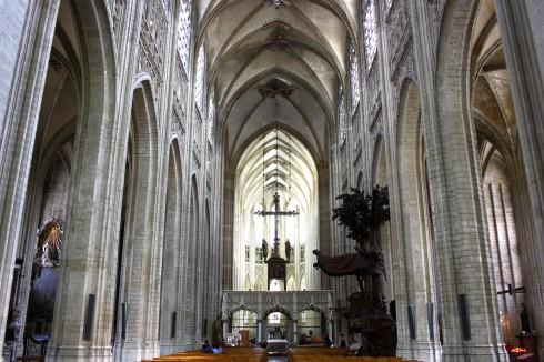 Sint Pieterskerk, Leuven, Flandern, Belgia