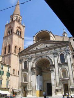 Basilica Sant'Andrea, Mantova, Lombardia, Nord-Italia, Italia