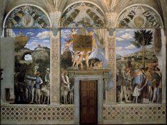 Camera degli Sposi, Palazzo Ducale, Mantova, Lombardia, Nord-Italia, Italia
