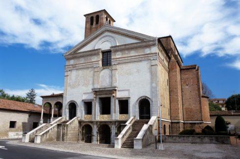 Leon Battista Alberti tegnet også kirken San Sebastiano, Mantova, Lombardia, Nord-Italia, Italia