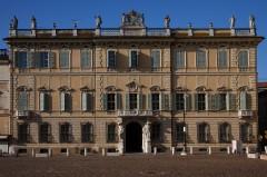 Palazzo Bianchi, Piazza Sordello, Mantova, Lombardia, Nord-Italia, Italia