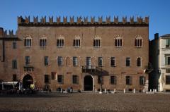 Palazzo Bonacolsi, Palazzo Bonacolsi, Mantova, Lombardia, Nord-Italia, Italia