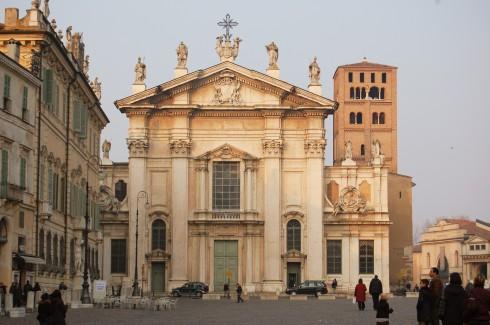 Duomo, Mantova, Lombardia, Nord-Italia, Italia