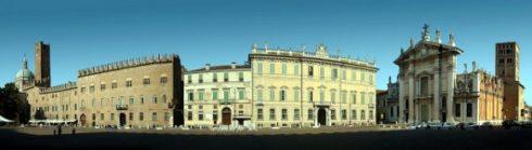 Piazza Sordello, Mantova, Lombardia, Nord-Italia, Italia