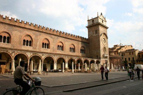 Palazzo della Ragione, Mantova, Lombardia, Nord-Italia, Italia