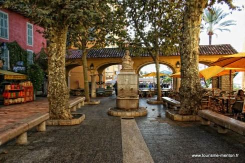 gamlebyen, Menton, Alpes Maritimes, Provence, Cote d'Azur, Sør-Frankrike, Frankrike