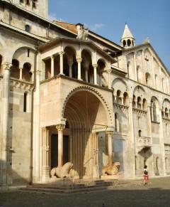 Duomo, Porta Regia, Piazza Grande, Modena, Emilia Romagna, Nord-Italia, Italia