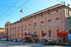 Palazzo dei Musei, Modena, Emilia Romagna, Nord-Italia, Italia