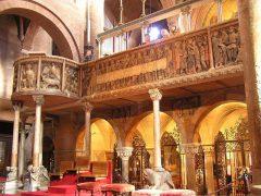 Duomo, prekestol, Modena, Emilia Romagna, Nord-Italia, Italia