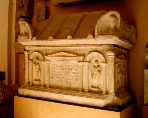 Museo Lapidario Estense, Modena, Emilia Romagna, Nord-Italia, Italia