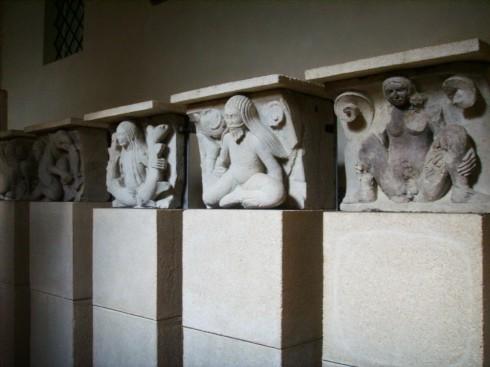 Metopemesteren, Museo del Duomo, Modena, Emilia Romagna, Nord-Italia, Italia