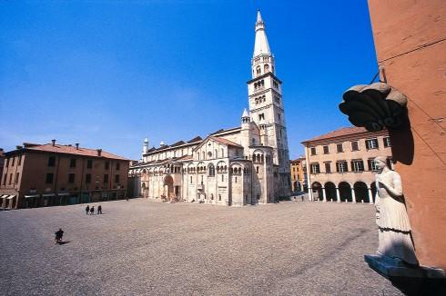 Piazza Grande, Duomo, Modena, Emilia Romagna, Nord-Italia, Italia