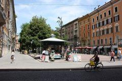 Piazza Mazzini, Modena, Emilia Romagna, Nord-Italia, Italia
