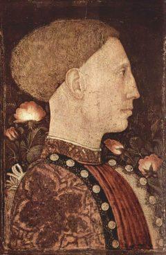 Leonello d'Este, Palazzo Ducale, Modena, Emilia Romagna, Nord-Italia, Italia