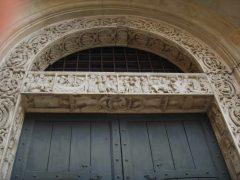 Porta dei Principi, Geminianus, Duomo, Modena, Emilia Romagna, Nord-Italia, Italia