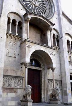 Duomo, Wiligelmo, Modena, Emilia Romagna, Nord-Italia, Italia