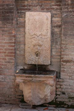 Piazza Pomposa, Modena, Emilia Romagna, Nord-Italia, Italia