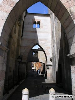 Duomo Modenas nord-fasade, Modena, Emilia Romagna, Nord-Italia, Italia