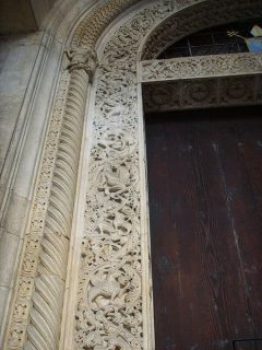Duomo, Wiligelmo, vestfasaden, Modena, Emilia Romagna, Nord-Italia, Italia