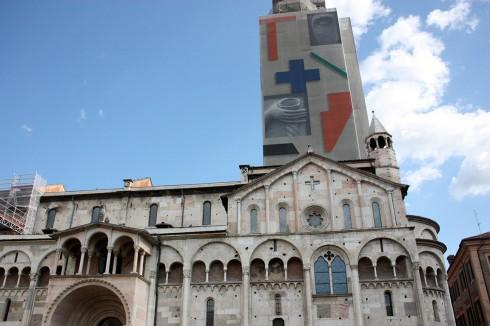 Duomos campanile, Modena, Emilia Romagna, Nord-Italia, Italia