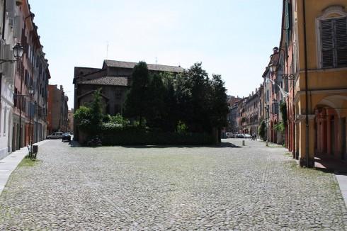 Santa Maria Pomposa, Modena, Emilia Romagna, Nord-Italia, Italia