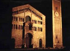 fasade, duomo, Parma, Emilia Romagna, Nord-Italia, Italia