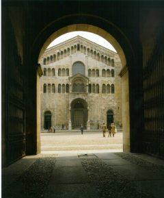 Duomo, fasade, Parma, Emilia Romagna, Nord-Italia, Italia