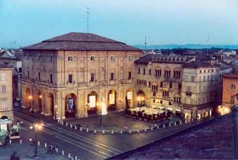 Piazza del Municipio, Parma, Emilia Romagna, Nord-Italia, Italia