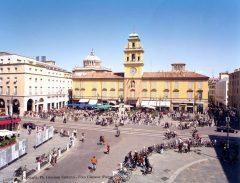 Piazza Garibaldi, Parma, Emilia Romagna, Nord-Italia, Italia