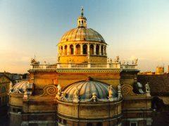 Renessansekirken Madonna delle Steccata, Parma, Emilia Romagna, Nord-Italia, Italia
