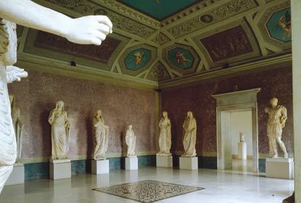 Palazzo della Pilotta, nasjonalt arkeologisk museum, Parma, Emilia Romagna, Nord-Italia, Italia