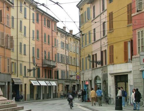 Via Bixio, Parma, Emilia Romagna, Nord-Italia, Italia