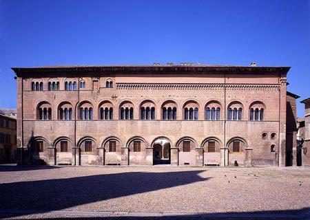 Palazzo Vescovile, Parma, Emilia Romagna, Nord-Italia, Italia