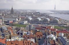 Markedshallene, Riga, gamleby, Unesco Verdensarven, Latvia, Baltikum