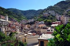 Riomaggiore, Cinque Terre, Liguria, Nord-Italia, Italia
