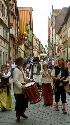 Meistertrunk, Rothenburg ob der Tauber, Bayern, Sør-Tyskland, Tyskland
