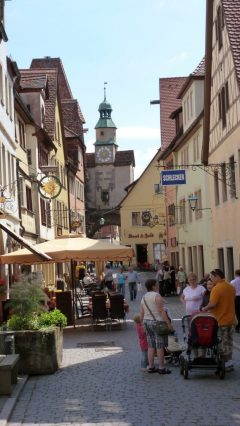 Röderbogen, Rothenburg ob der Tauber, Bayern, Sør-Tyskland, Tyskland