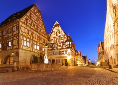 Herrngasse, Rothenburg ob der Tauber, Bayern, Sør-Tyskland, Tyskland