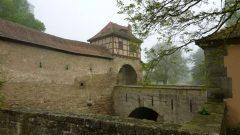 Burg, Rothenburg ob der Tauber, Bayern, Sør-Tyskland, Tyskland