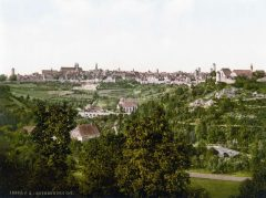 Rothenburg ob der Tauber, Bayern, Sør-Tyskland, Tyskland