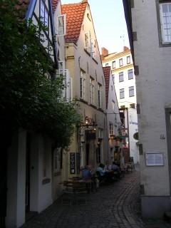 Schnoor-viertel, Bremen, Unesco, Altstadt, Historisk,Middelalder, Marktplatz, Nord-Tyskland, Tyskland