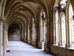 Kreuzgang, Liebfrauenkirche, Trier, Vest-Tyskland, Tyskland