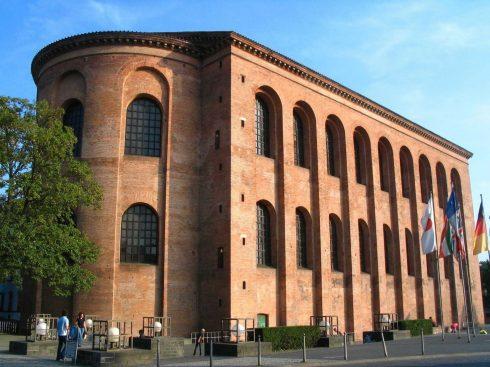Konstantinbasilika, Aula Palatina, Trier, Vest-Tyskland, Tyskland