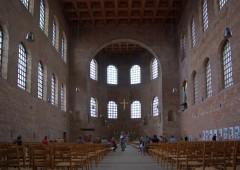 Aula Palatina, Konstantin-basilika, Trier, Vest-Tyskland, Tyskland