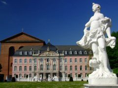 Kurfürstliches Palast, Trier, Vest-Tyskland, Tyskland