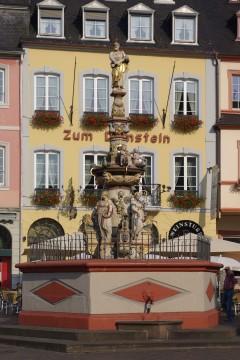 Hauptmarkt, Brunnen, Trier, Vest-Tyskland, Tyskland