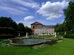 Kurfürstliches Palais, Trier, Vest-Tyskland, Tyskland