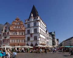 Steipe, Hauptmarkt, Trier, Vest-Tyskland, Tyskland
