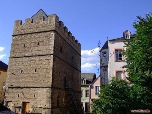 Frankenturm, Trier, Vest-Tyskland, Tyskland