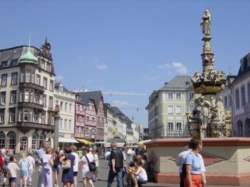 Haupmarkt, Trier, Vest-Tyskland, Tyskland